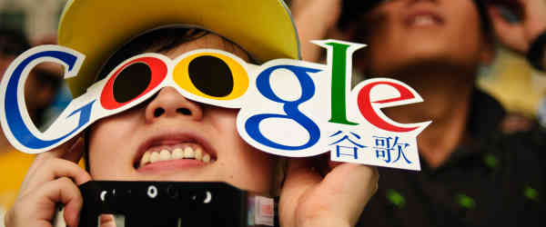 Services Google bloqués en Chine ?