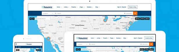 Houzez : Un thème pour agence immobilière