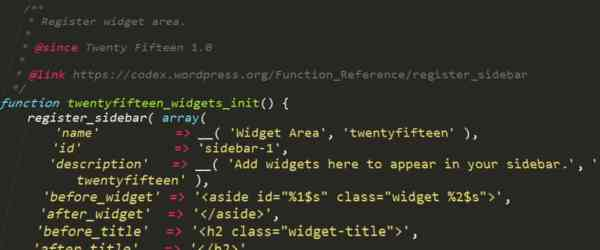 Code utile pour WordPress